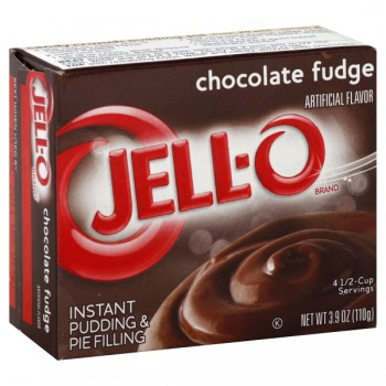 Jell-O Instant Pudding & Pie Filling Chocolate Fudge
