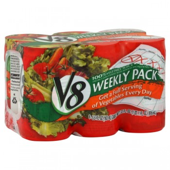 V8 100% Vegetable Juice - 6 pk