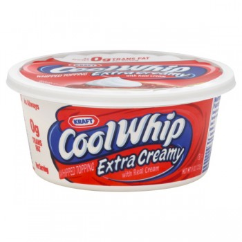 Cool Whip Whipped Topping Extra Creamy Frozen