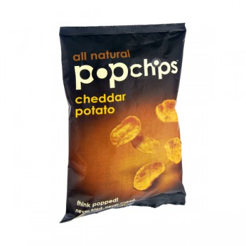 popchips Potato Chips Cheddar All Natural