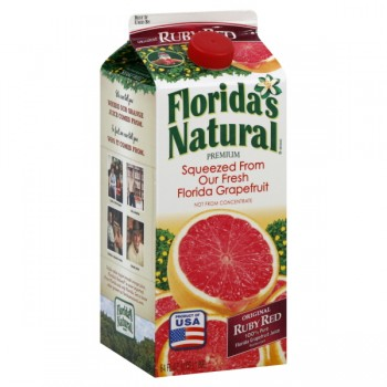 Florida's Natural Premium Original Ruby Red Grapefruit Juice