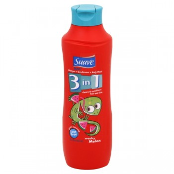 Suave Kids 3 in 1 Shampoo, Conditioner & Body Wash Wacky Melon