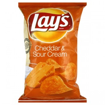 Lay's Potato Chips Cheddar & Sour Cream