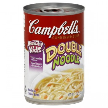 Campbell's Kids Condensed Soup Double Noodle with Chicken Broth
