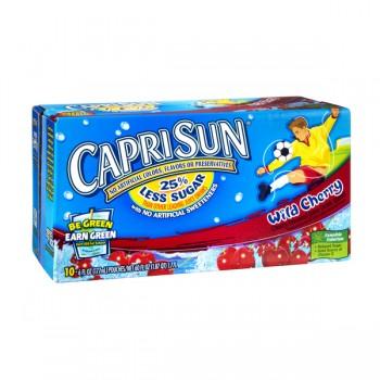 Capri Sun Wild Cherry Juice Drink - 10 pk