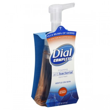 Dial Complete Foaming Hand Wash Antibacterial Original Scent Pump