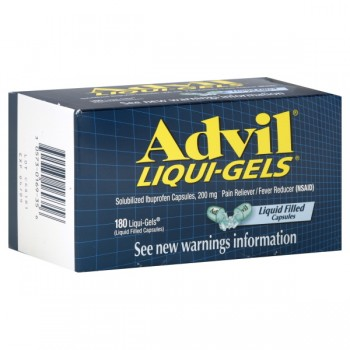 Advil Ibuprofen 200 mg Liqui-Gels