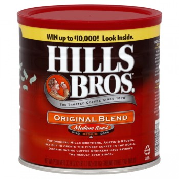 Hills Bros Original Blend Medium Roast Coffee (Ground)