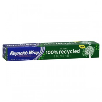 Reynolds Wrap Aluminum Foil 100% Recycled