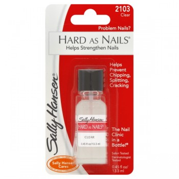 Sally Hansen Hard As Nails Nail Polish Clear