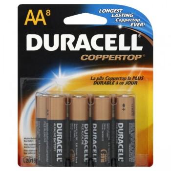 Duracell Coppertop Alkaline Batteries Size AA
