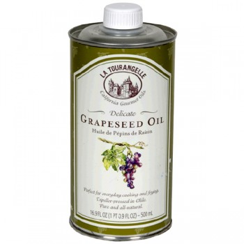La Tourangelle Gourmet Grapeseed Oil Delicate Natural