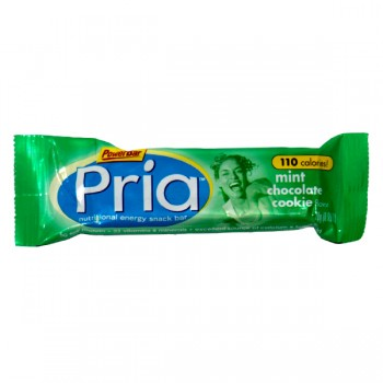 PowerBar Pria Nutritional Bar Mint Chocolate Cookie
