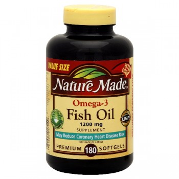 Nature Made Omega-3 Fish Oil 1200 mg Softgels