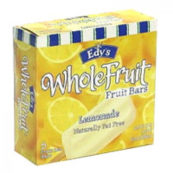 Dreyer's/Edy's Fruit Bars Lemonade - 6 ct