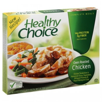 Healthy Choice Chicken Breast Roasted with Potatoes, Carrots & Peas