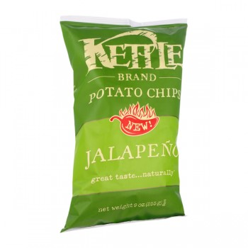 Kettle Brand Potato Chips Jalapeno Natural