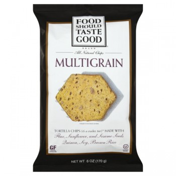 Food Should Taste Good Tortilla Chips Multigrain Natural