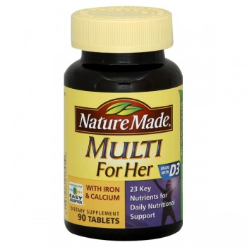 Nature Made Essential Woman Multivitamin Tablets