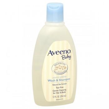 Aveeno Baby Wash & Shampoo Lightly Scented