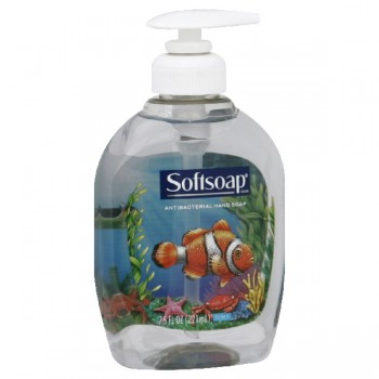Softsoap Aquarium Series Liquid Hand Soap Antibacterial Pump
