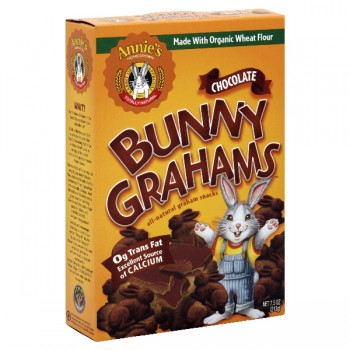 Annie's Homegrown Bunny Grahams Chocolate All Natural