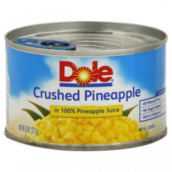 Dole Pineapple Crushed in Juice