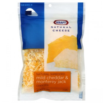 Kraft Cheese Cheddar & Monterey Jack Shredded