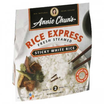 Annie Chun's Rice Express Rice White Sticky Fresh Steamed All Natural
