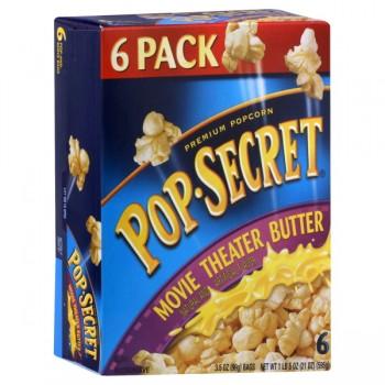 Pop Secret Microwave Popcorn Movie Theatre Butter