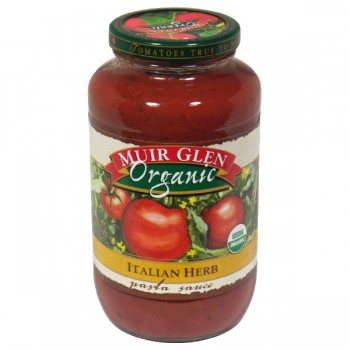 Muir Glen Pasta Sauce Italian Herb Organic