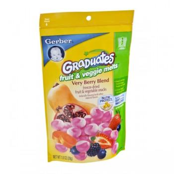 Gerber Graduates Fruit & Veggie Melts Very Berry Blend