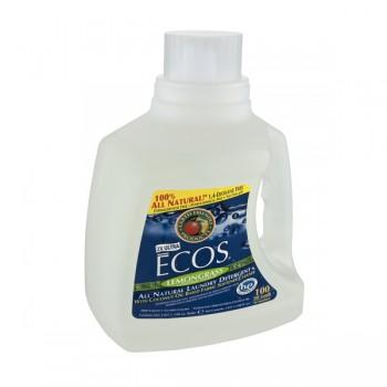 Earth Friendly Ecos 2X Ultra Liquid Laundry Detergent HE Lemongrass