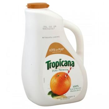 Tropicana Pure Premium 100% Pure Orange Juice High Pulp