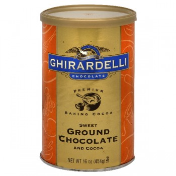 Ghirardelli Chocolate & Cocoa Ground Sweetened
