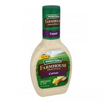 Hidden Valley Farmhouse Originals Salad Dressing Caesar