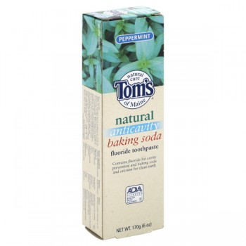 Tom's of Maine Natural Toothpaste with Baking Soda Peppermint
