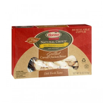 Hormel Natural Choice Carved Chicken Breast Grilled 100% Natural