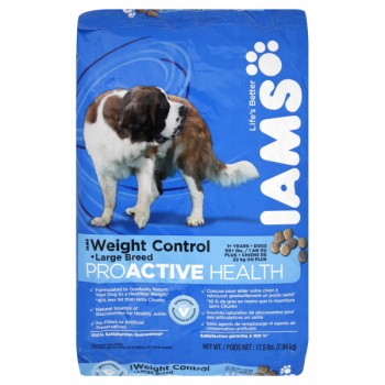 Iams ProActive Health Dry Dog Food Weight Control Large Breed 1+ Years