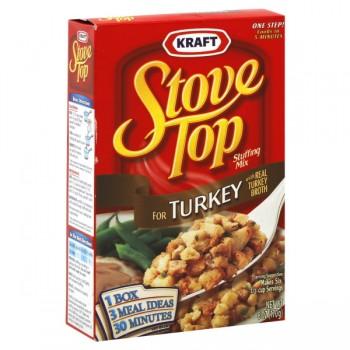 Kraft Stove Top Stuffing Mix Turkey