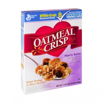General Mills Oatmeal Crisp Cereal with Raisins