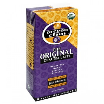 Oregon Chai The Original Chai Tea Latte Concentrate Organic
