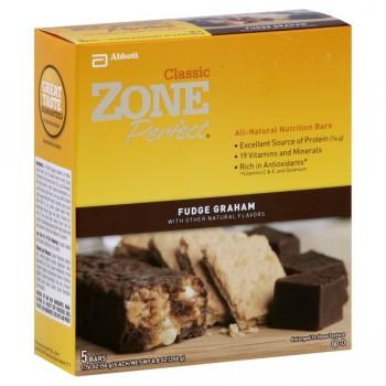 ZonePerfect Nutrition Bars Fudge Graham All Natural - 5 ct