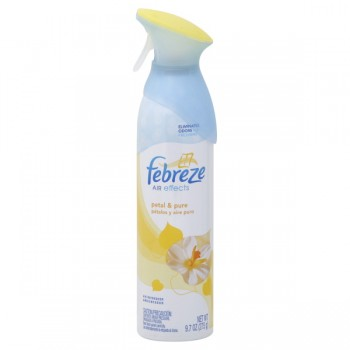 Febreze Air Effects Air Freshener Petal & Pure Aerosol Spray