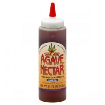 Madhava Agave Nectar Amber 100% Natural Sweetener Organic
