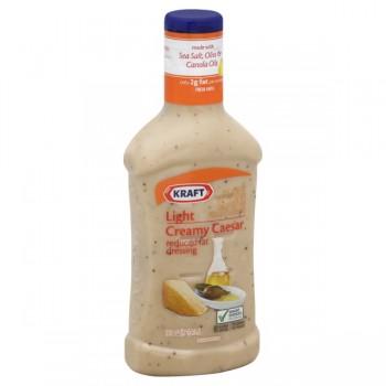 Kraft Salad Dressing Creamy Caesar Light