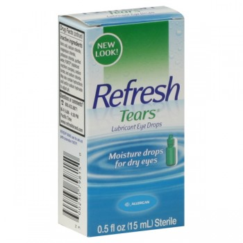 Allergan Refresh Tears Moisture Drops for Dry Eyes