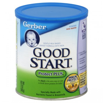 Gerber Good Start Protect PLUS Formula Milk Based with Iron Powder