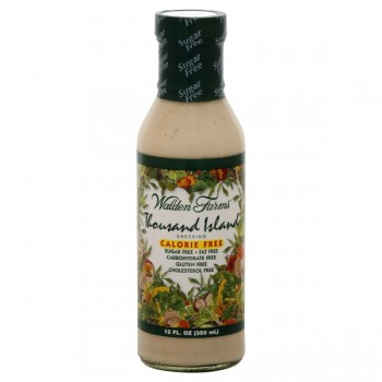 Walden Farms Salad Dressing Thousand Island Calorie, Sugar & Carb Free