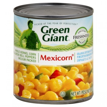 Green Giant Mexicorn with Red & Green Pepper